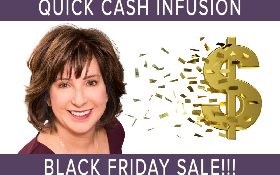 BLACK FRIDAY SPECIAL: could you use extra cash?