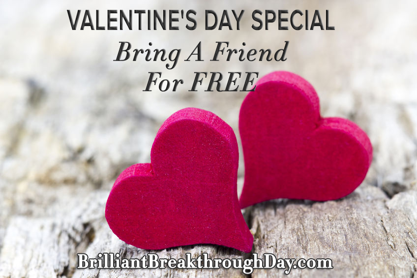 FIRST TIME EVER- Valentine's Day Special (ends soon!)